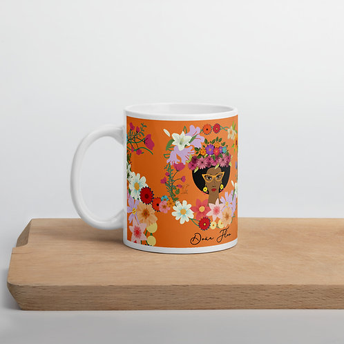 Taza naranja 'Doña Flor'