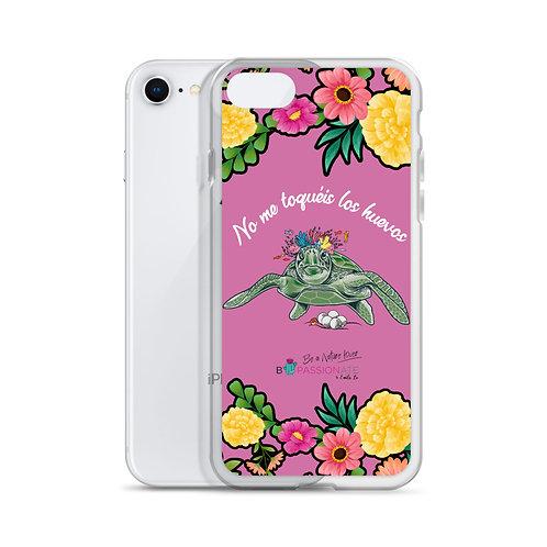 Fuchsia 'Great turtle' iPhone cases