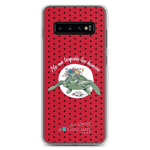Fundas para Samsung rojas 'Tortuga cojonuda'