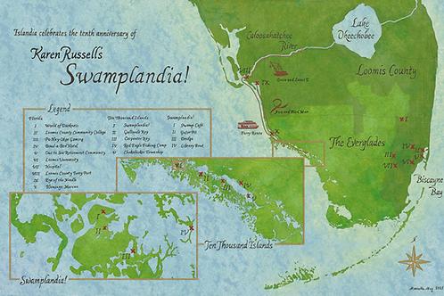 Map of Karen Russell's Swamplandia!