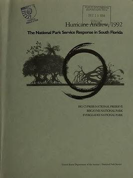 Hurricane Andrew National Parks Response