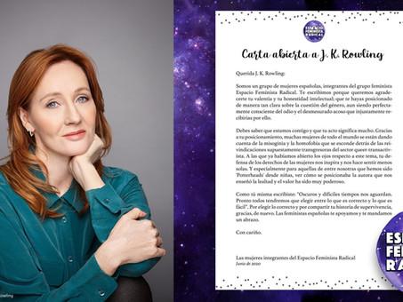 Carta abierta a J. K. Rowling