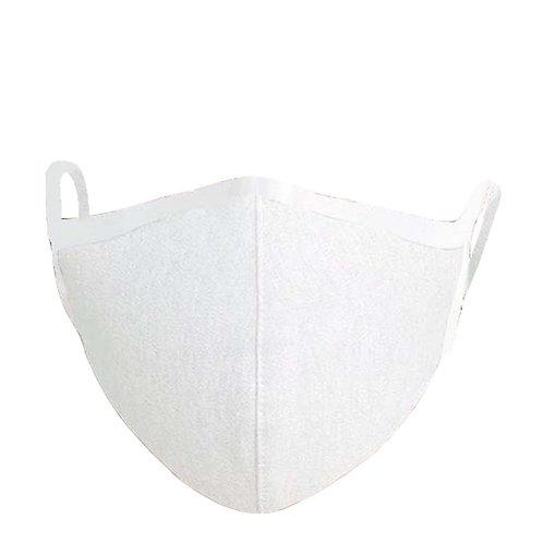銀イオン繊維フィルター立体布マスク ホワイト×1枚 配送:レターパックプラス