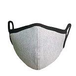 銀イオン繊維フィルター立体布マスク グレー×1枚 配送:レターパックプラス