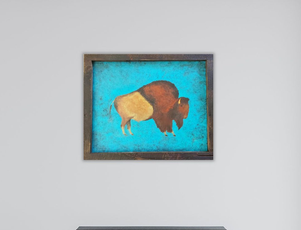 Antique Bison