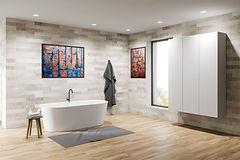 Art in Bathroom