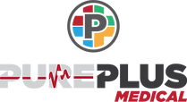 PURE PLUS Medical Logo PNG Transparent N