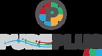 PURE PLUS LED Logo PNG Transparent - No