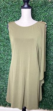Gianni Bini One-Shoulder Dress