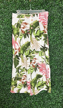 Iris Tropical Print Culottes