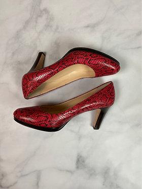Cole Haan Snake Print Heels