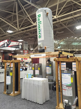 Reliance Water Heater Show display