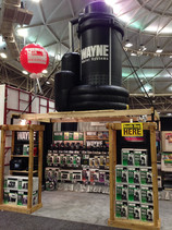 Wayne Pump display at United Hardware buying market.