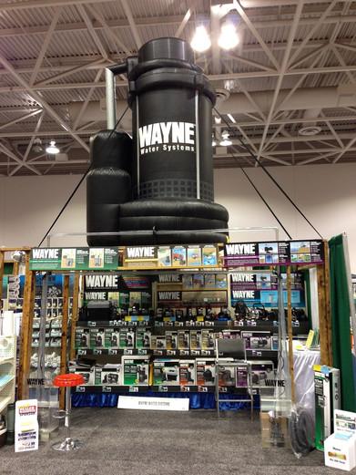Distributor show display for Wayne Pumps