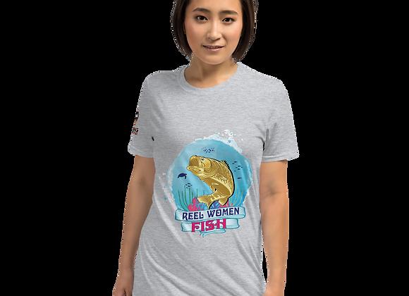 Reel Women Fish Short-Sleeve Unisex T-Shirt