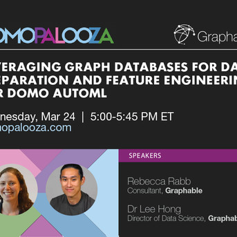 ONLINE CONF [REPLAY] Join Graphable at DP21 for a session on Domo AutoML with Neo4j Graph Database
