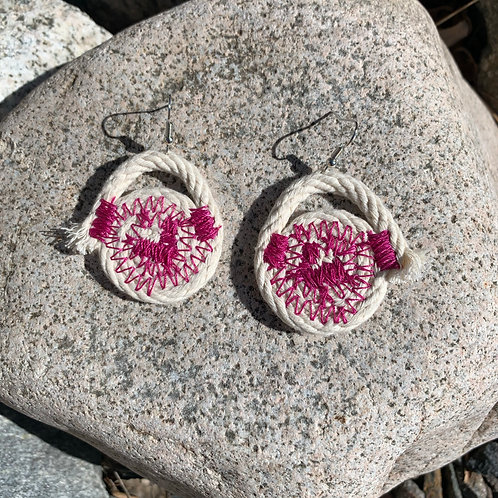 Small Coil Earrings