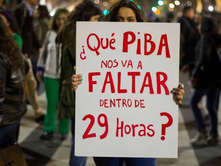 Marcha Ni Una Menos. 3 de junio en Plaza de mayo.