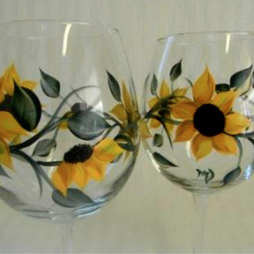 Sunflower Glass  - In Person