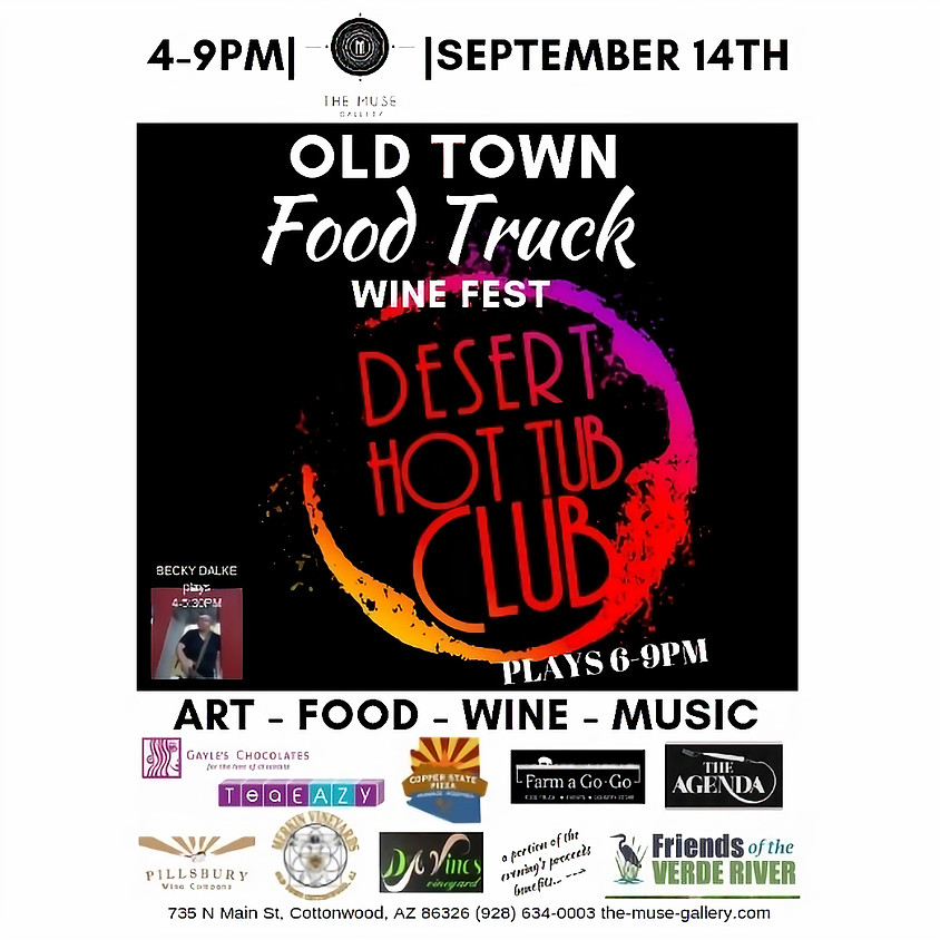 Old Town Food Truck Wine Fest!