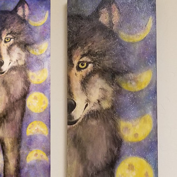 Moonhpase Wolf