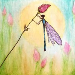 Flower Dance Dragonfly