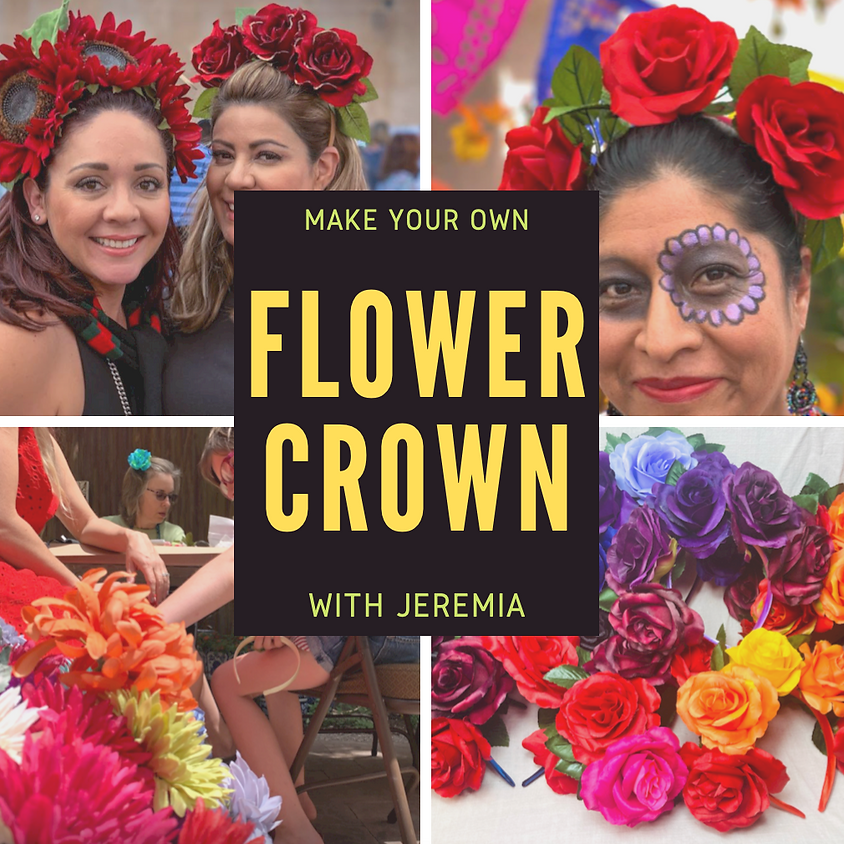 Make your own Flower Crown with Jeremia