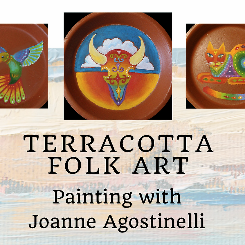 Folk Art Painting with Joanne