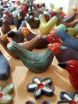 Ceramics Birds