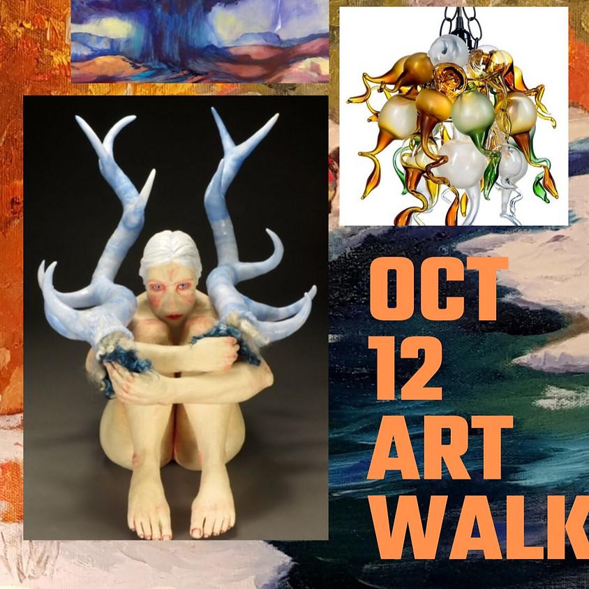 Oct 12th Second Saturday Art & Cultural Walk