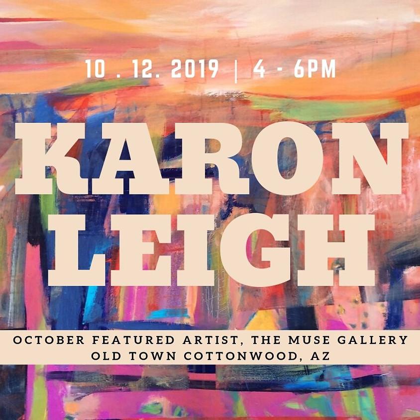 Karon Leigh, October Featured Artist