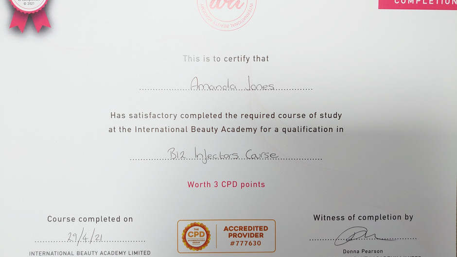 Another Qualification Gained