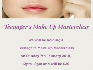 Teenager's Make Up Masterclass