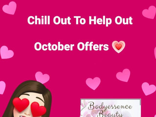 Chill Out To Help Out  - October Offers