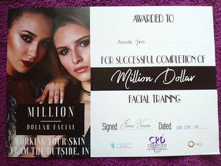 NEW Million Dollar Facial Treatment now available to book