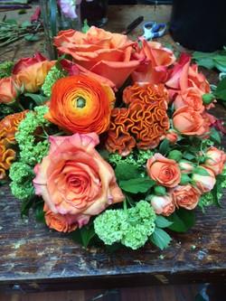 Copy of Orange monochromatic and green 2