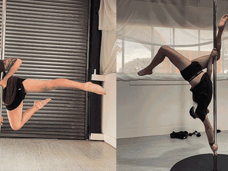 Meet Dylan and Josh - two men who pole dance at Altitude!