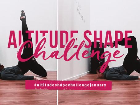 Altitude Shape Challenge - January 2021