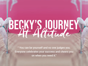 Becky's Journey - Stepping outside her comfort zone, empowerment & a new found passion!
