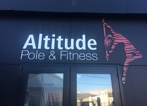 Let us introduce you to the new Altitude Pole & Fitness Studio