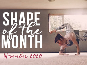 Shape of the Month November 2020