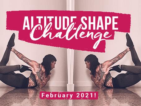 Altitude Shape Challenge - March 2021!