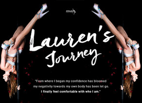 Lauren's journey - pole kisses, triangle splits and self-discovery