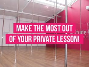 How to make the most out of a private lesson!