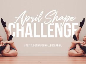 Altitude Shape Challenge - April 2021!