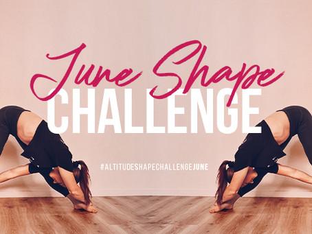 Altitude Shape Challenge - June 2021!