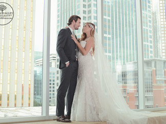 The Mint Museum Uptown is the chicest city wedding venue in Charlotte, NC.