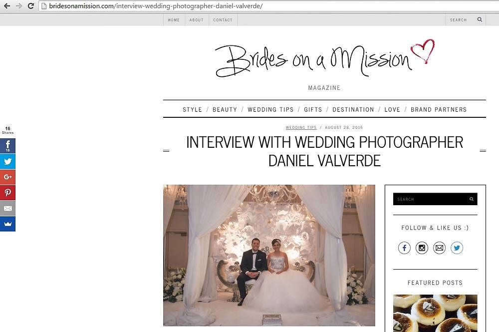 Brides on a mission Daniel Valverde photographer