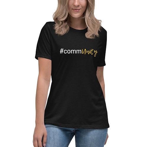 #commUNiTY Women's Relaxed T-Shirt