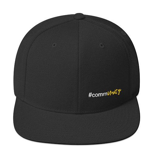 #commUNiTY Snapback Hat
